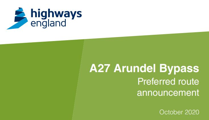 Highways England and the A27