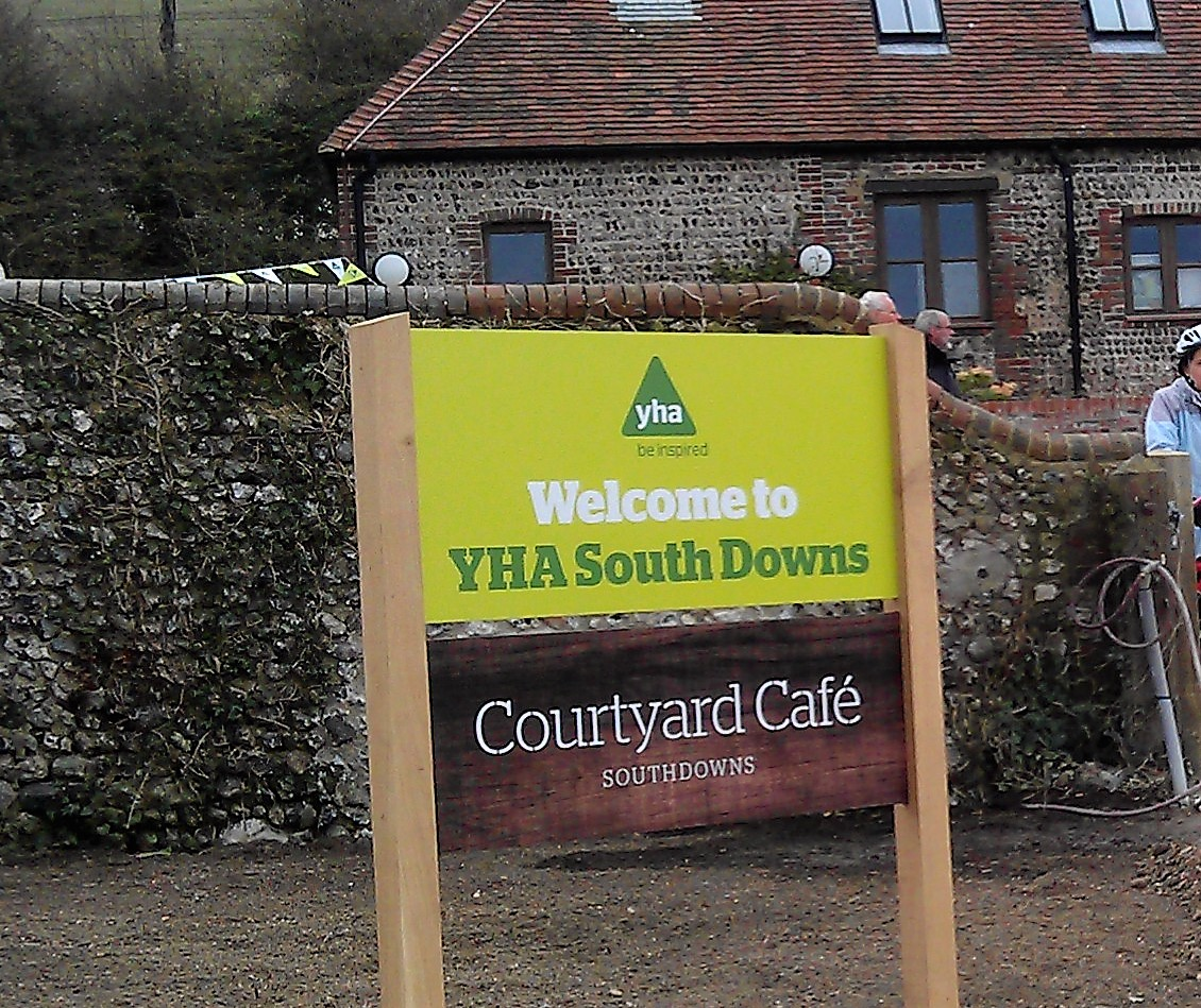 YHA hostels and the South Downs Way