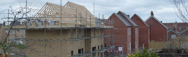 Major new housing developments on the edge of the South Downs National Park