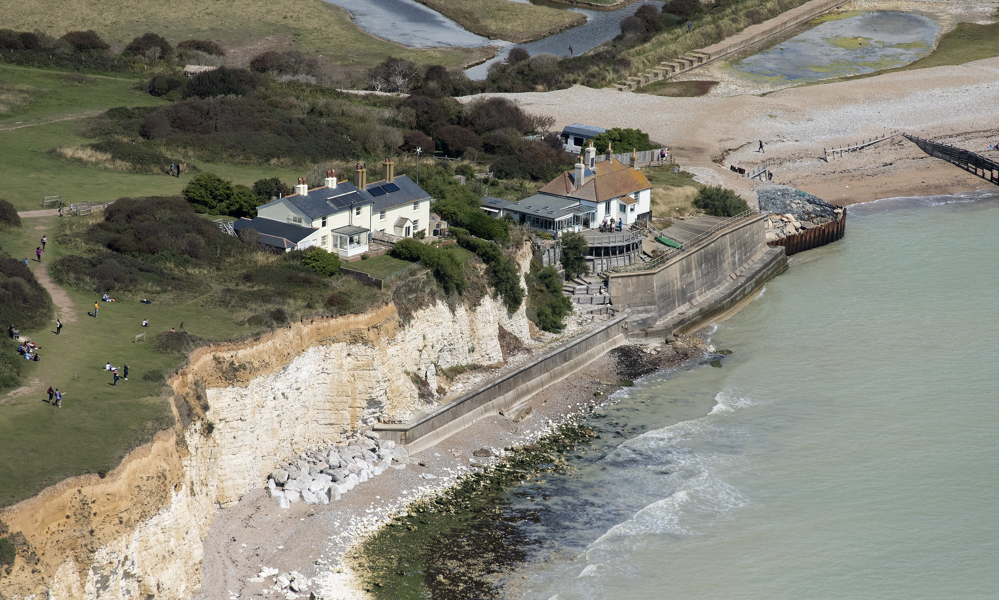 South Downs National Park planning decision at Cuckmere Haven reversed at Judicial Review!