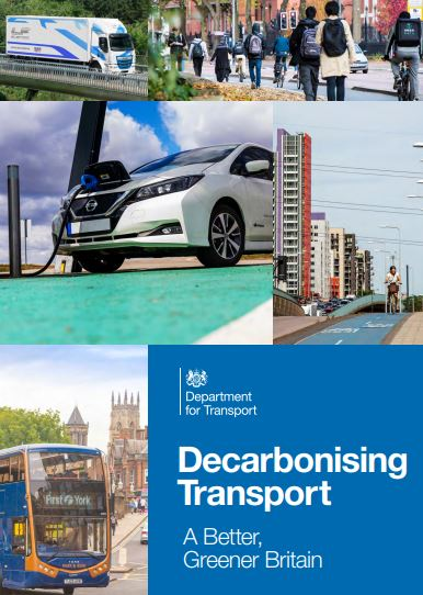 Transport Decarbonisation Plan published! and Aviation Consultation launched – closes 8th Sept