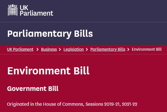 Where are we with the much-delayed UK Environment Bill?