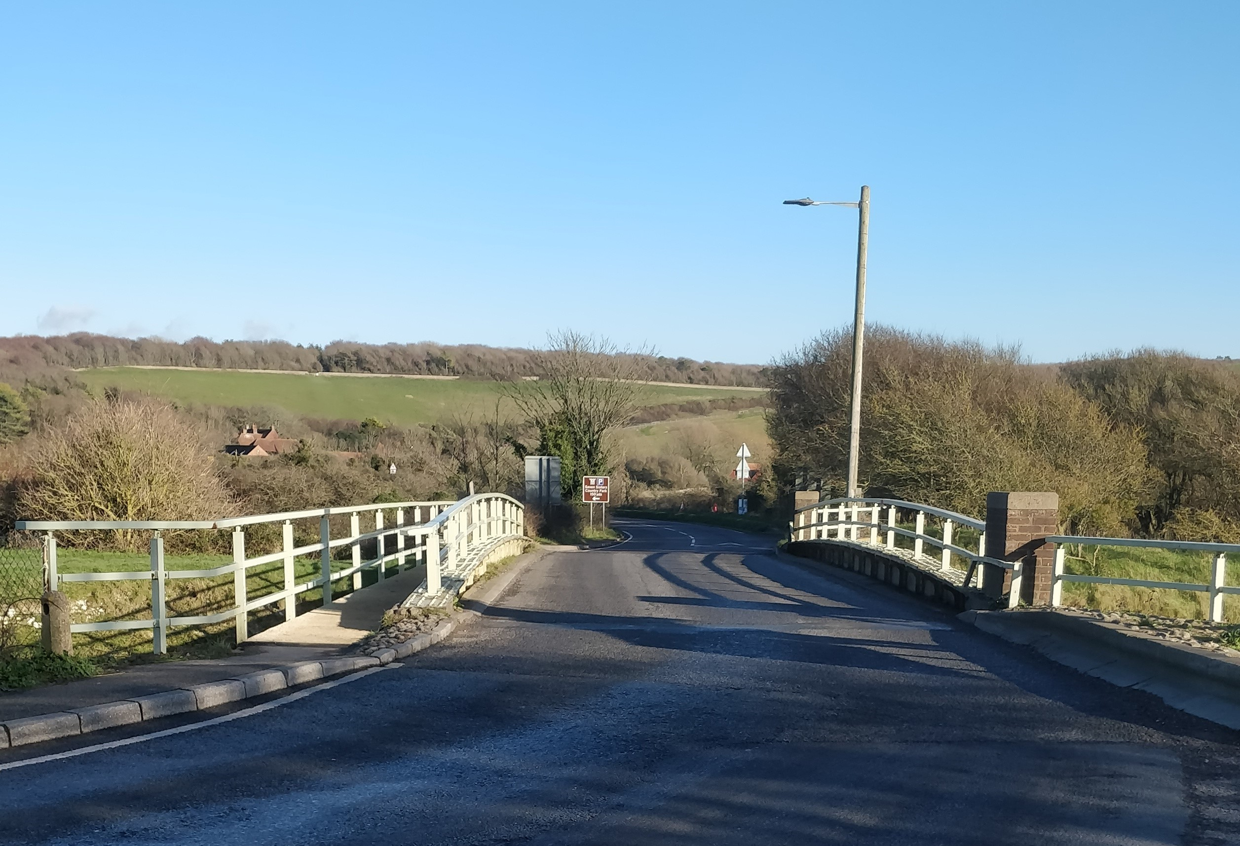 Exceat Bridge – £5 million bridge but NO improvement for cycling, walking and horse riders