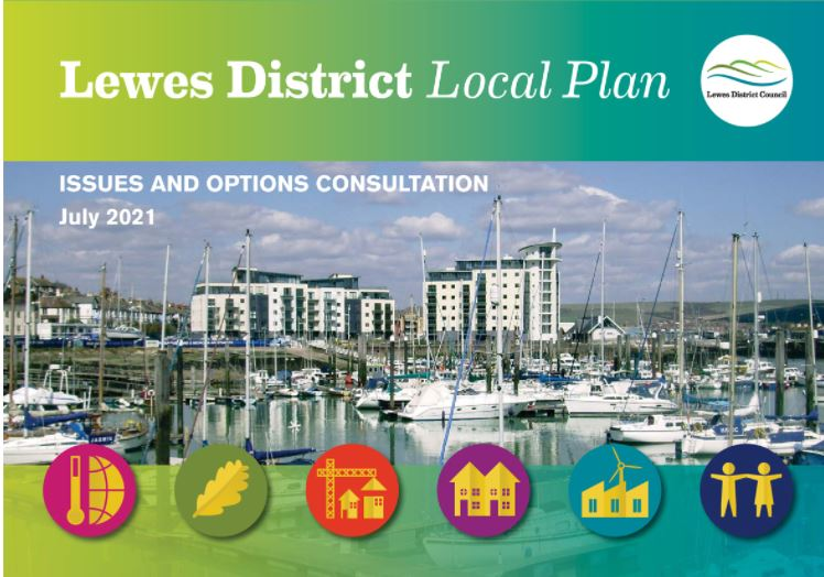 Lewes District Council Local Plan  consultation – closes at 5pm on 3rd September 2021