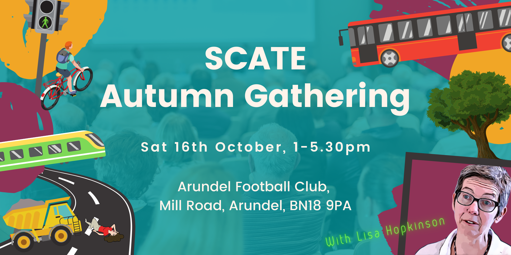 SCATE Autumn Gathering information and SIGN UP! Saturday 16th October